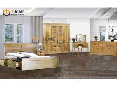 Bộ phòng ngủ Nova 5 món BPN-04SM