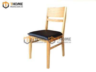 Ghế ăn tokyo gỗ sồi mặt nệm GHE-03SM
