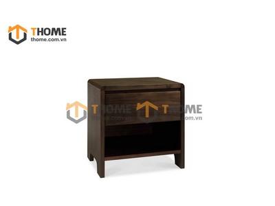 Tủ đầu giường gỗ óc chó 0.5m TDG-01OC