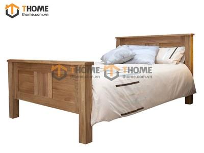 Giường ngủ đuôi cao nguyên khối 1.6m GN-57SM; 1.8m GN-58SM