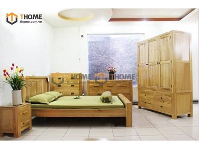Bộ phòng ngủ Chunky 5 món BPN-07SM