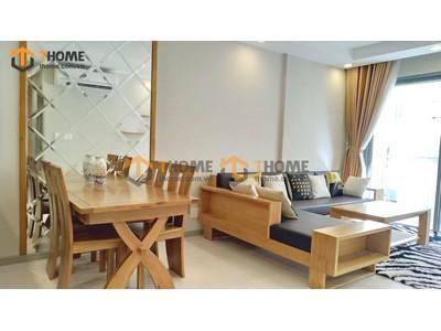Bộ phòng khách sofa góc kiểu 2 gồm 2 món BPK-02SM