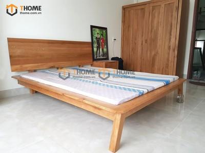 Bộ phòng ngủ Como chân xéo 3 món BPN-09SM