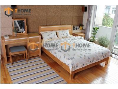 Bộ phòng ngủ Lakada kiểu 2 gồm 3 món BPN-13SM