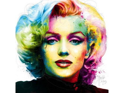 Tranh sơn dầu chân dung Marilyn Monroe TSD-13