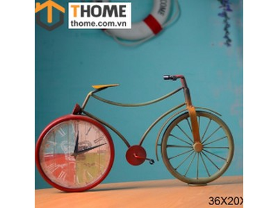 Đồng hồ xe đạp bánh đỏ DC-02-11
