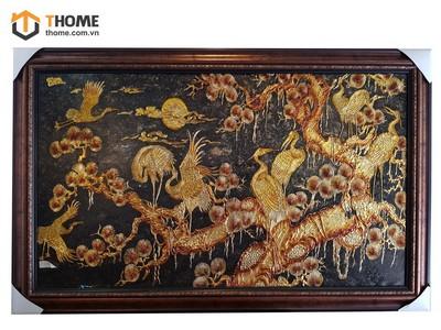 Tranh sơn dầu đàn hạc vàng TSD-09