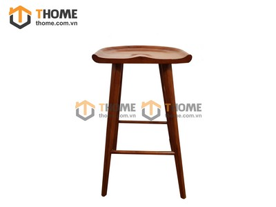 Ghế bar chân cao mặt gỗ 0.42m GHE-18SM