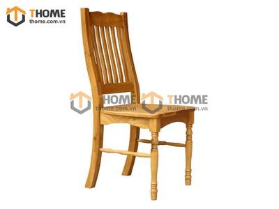 Ghế ăn Ashmore chân tiện mặt gỗ GHE-20SM