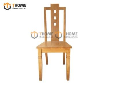 Ghế ăn 3 lỗ mặt gỗ GHE-21SM