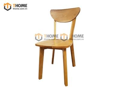 Ghế ăn bán nguyệt mặt gỗ GHE-22SM