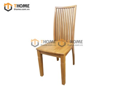 Ghế ăn Ashmore 9 nan mặt gỗ GHE-25SM
