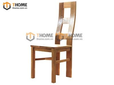 Ghế ăn Zen 3 nan mặt gỗ GHE-26SM