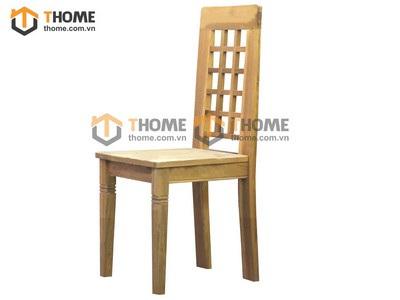 Ghế ăn caro mặt gỗ GHE-19SM