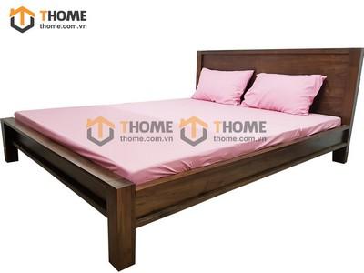 Giường ngủ gỗ óc chó 1.6m GN-01OC; 1.8m GN-02OC