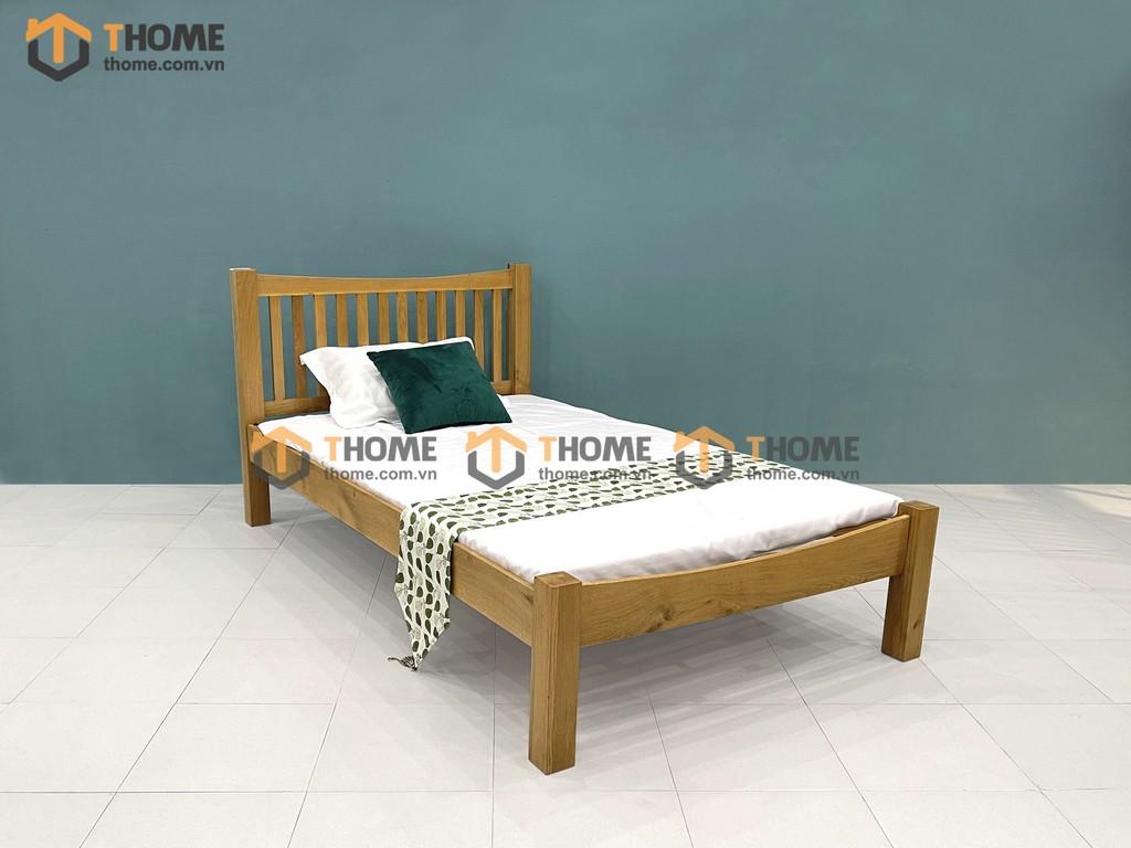 Giường ngủ đầu nan Ashmore 1.2m; 1m4; 1m6; 1m8 GN-06SM