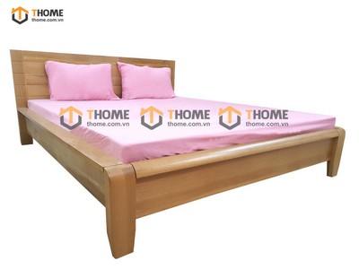 Giường ngủ kiểu Nhật be nhỏ đuôi cong 1.6m; 1.8m GN-11SM