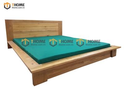 Giường ngủ kiểu Nhật be to thấp 1.6m; 1.8m GN-12SM