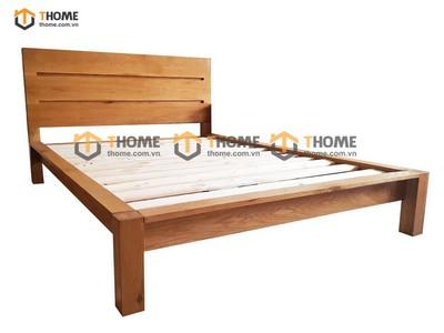 Giường ngủ đầu 3 nan 1.4m; 1.6m; 1.8m GN-14SM