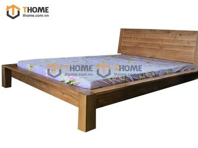 Giường ngủ HAPPY đầu gỗ 1.6m GN-45SM; 1.8m GN-46SM