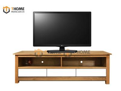 Kệ tivi 3 hộc kéo màu trắng 1.6m; 1.8m KTV-25SM