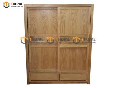 Tủ áo cửa lùa 1.4m; 1.6m; 1.8m; 2.0m TA-17SM