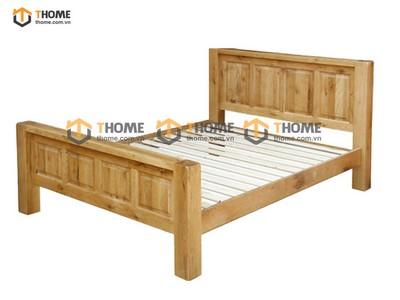 Giường ngủ Chunky pano chân cao 1.6m; 1.8m GN-18SM