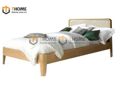 Giường ngủ hở chân đầu nệm 1.6m GN-49SM; 1.8m GN-50SM