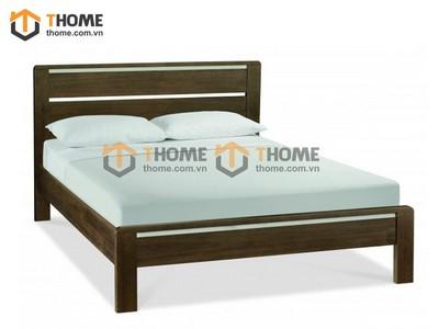 Giường ngủ Lakada gỗ óc chó 1.6m GN-03OC; 1.8m GN-04OC