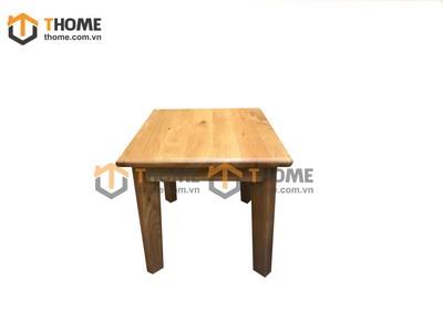 Ghế đôn vuông không tựa lưng mặt gỗ GHE-29SM