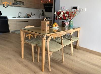 Bộ bàn ăn Neva 6 ghế neva 1.6m; 1.8m; 2.0m BBA-73SN