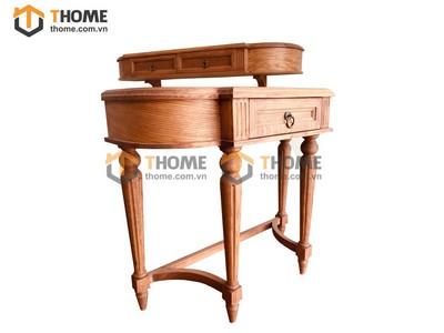 Bộ bàn trang điểm cổ điển 2 món (bàn+kệ treo) 1.0m BTD-19SM