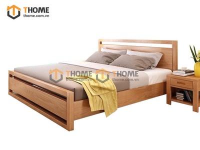 Giường ngủ Capri đuôi cao 1.4M; 1.6m; 1.8m GN-27SM