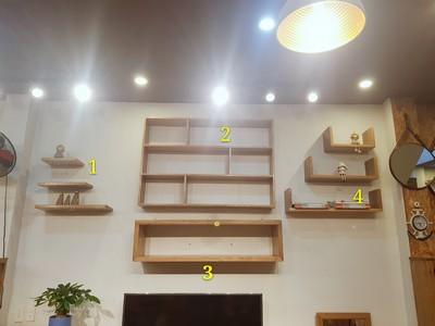 Kệ treo tường đủ loại 1.2m KS-23SM