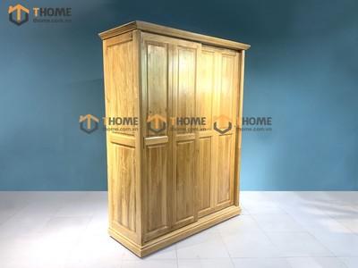 Tủ áo cửa lùa 2 cánh 8 pano 1.4m; 1.6m; 1.8m; 2.0m TA-44SM