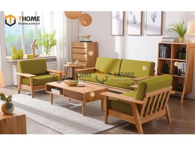Bộ phòng khách sofa Como tay to gồm 4 món BPK-05SM