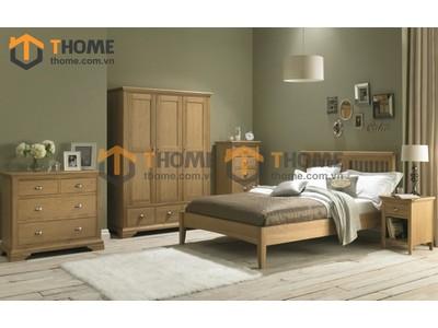 Bộ phòng ngủ Hampshire 5 món BPN-14SM