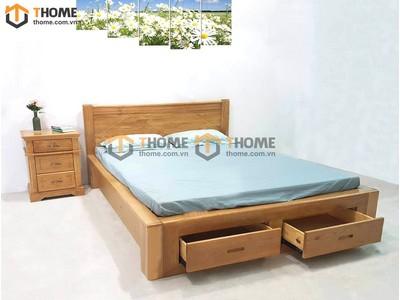 Bộ phòng ngủ Rustic 3 món BPN-19SM
