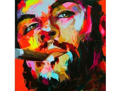 Tranh sơn dầu chân dung Che Guevara TSD-24