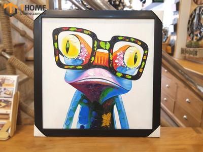 Tranh sơn dầu chú ếch con TSD-05