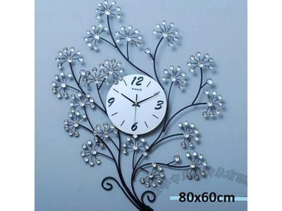 Đồng hồ đính hạt cành hoa DC-06-20