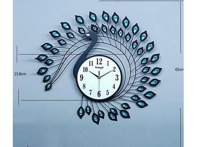 Đồng hồ đính hạt công đen DC-06-09