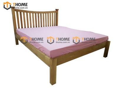 Giường ngủ đầu nan đuôi thấp 1.2m; 1.6m GN-10SM