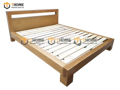 Giường ngủ kiểu Nhật hình hộp 1.4m; 1m6; 1m8 GN-22SM