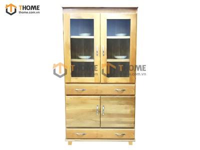 Tủ trưng bày Zen 4 cánh 2 ngăn kéo 0.9m TTB-11SM