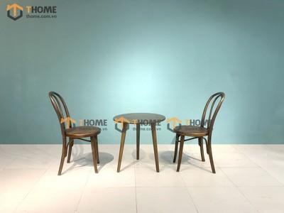 Bàn ghế cafe Thonet cong BGCF-16SN
